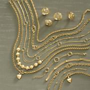 rolo heart charm bracelet or necklace