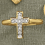 diamond cross ring 157