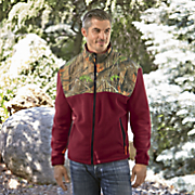 men s cmax camo trim jacket