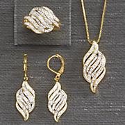 3 pc  diamond jewelry set