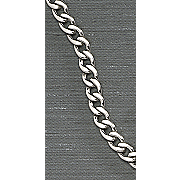 men s stainless steel curb link necklace