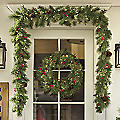 6' Cashmere Garland with Lights