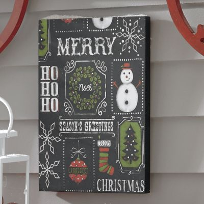 Chalkboard Christmas Sign