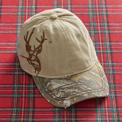 Khaki-Realtree Antler Cap