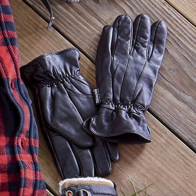 Men's Thinsulate Leather Glove