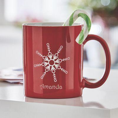 Personalized Snowflake Mug