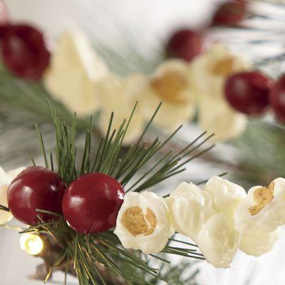 Popcorn Cranberry Garland