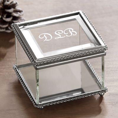 Personalized Glass Box
