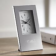 personalized silhouette alarm clock