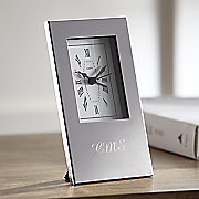 personalized silhouette alarm clock