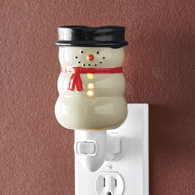 Snowman Warmer & Light-Night