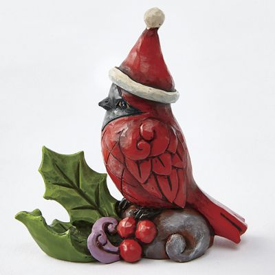 Mini cardinal by jim shore collectibles from seventh for Shore home decor