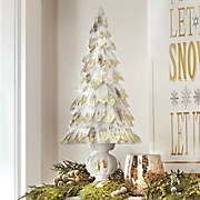 Gold Tipped Christmas Tree