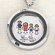 family character name pendant