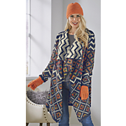 Aztec Bright Sweater Cardigan