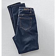 Ethyl French Terry Denim Jeans