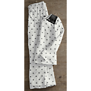 women s lace polka dot pajama set