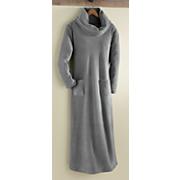 women s fleece lounger robe