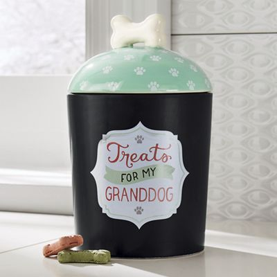 Granddog Treat Jar