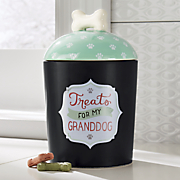 granddog treat jar