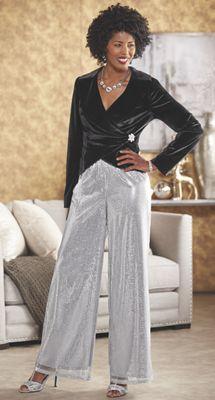 Azaria Jacket and Starla Wide Leg Pant