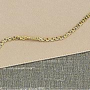 14k gold bismarck chain
