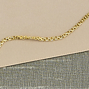 14k gold bismarck chain