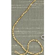 14k gold two tone twist chain
