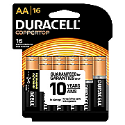 duracell aa 16 pack batteries