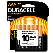 duracell aaa 12 pack batteries