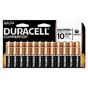 duracell aa 24 pack batteries