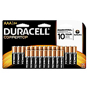 duracell aaa 24 pack batteries 6