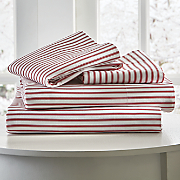 300 thread count ticking stripe sheets