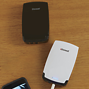 10 400 mah portable battery with 3 usb outputs by iboost