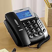 talking caller id telephone by vivitar