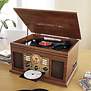 classic 6 in 1 turntable with bluetooth by victrola