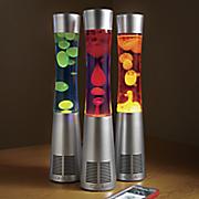 motion lamp bluetooth speaker by sharper image