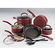 12-Piece Color Luxe Cookware Set by T-Fal