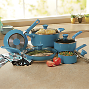 14 pc  excite cookware set by t fal