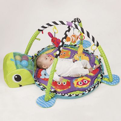 Infantino Grow W Me Activity Gym and Ball Pit