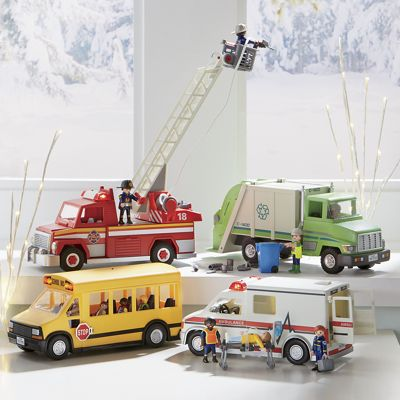 Play Mobil City Vehicles