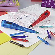set of 2 squiggly wiggly pens