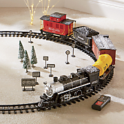 rc black canyon express train set