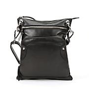 leather crossbody organizer bag