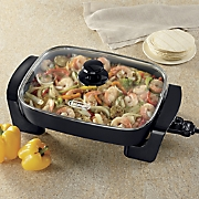 nonstick electric skillet by delonghi