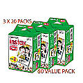 60-Pack of Instant Film by Fujifilm