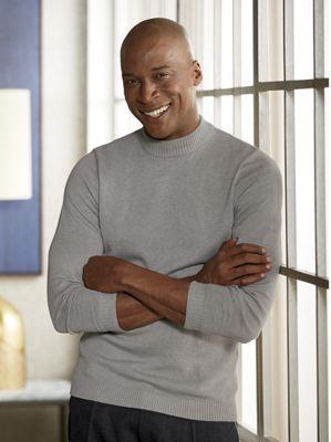 Ethan Men's Mock Neck Sweater