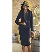 anna maria hat and jacket dress