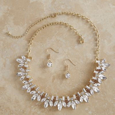 Orchid Jewelry Set