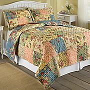 floral patch quilt